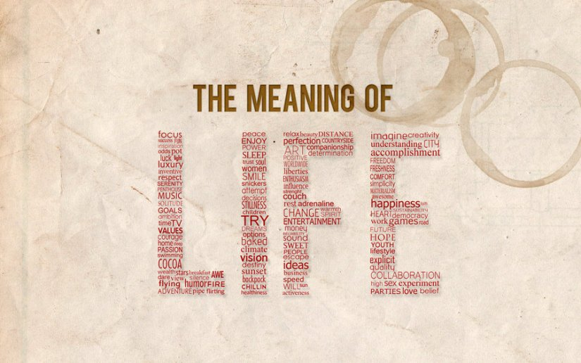 The Meaning of Life…